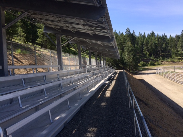 Pritchard Rodeo Grandstands