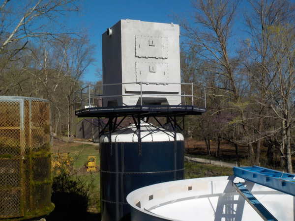 Water Storage Tank with Aerator